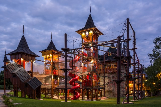 letni tabory v resortu brezova