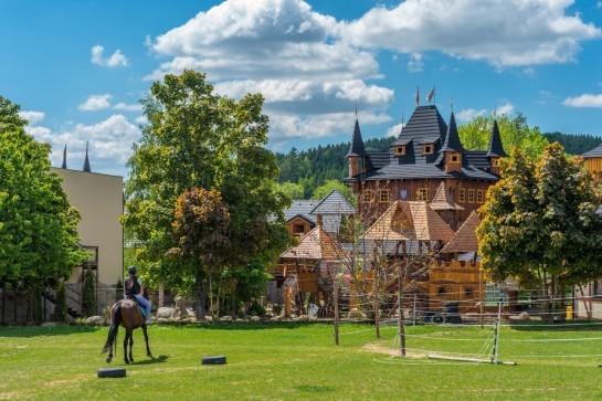 dětské letní tábory a resort Březová